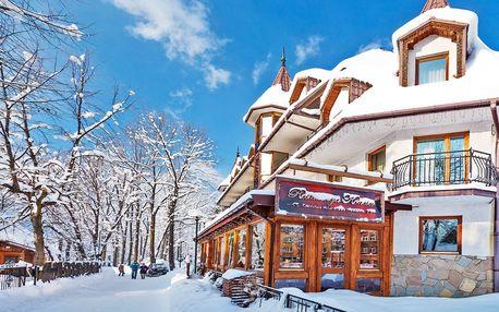 Luxusní pobyt v Zakopanem: wellness a Tatry