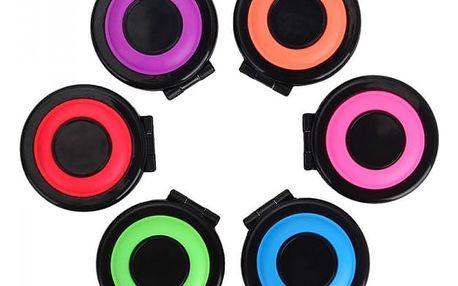 Sada barevných kříd na vlasy - 6 kusů