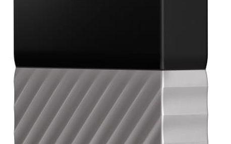 """Externí pevný disk 2,5"""" Western Digital 3TB (WDBFKT0030BGY-WESN) černý/šedý + DOPRAVA ZDARMA"""