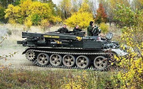 Řidičem tanku VT 55 - Luxusní dárkové balení