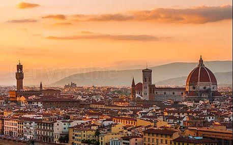 Pobyt v historickém centru Florencie v hotelu přímo u řeky Arno