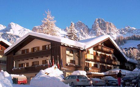 5denní Dolomiti Superski, Falcade se skipasem | Hotel Arnica*** | Doprava, ubytování, polopenze a skipas v ceně
