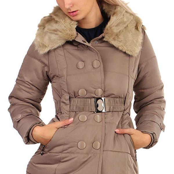 Dámská zimní bunda - i pro plnoštíhlé černá