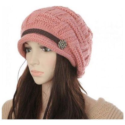 Pletená dámská čepice - 7 barev