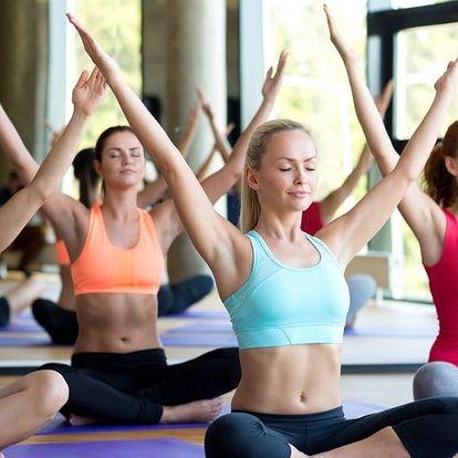 Sobotní kurz jógy ve studiu Yoga Karlín