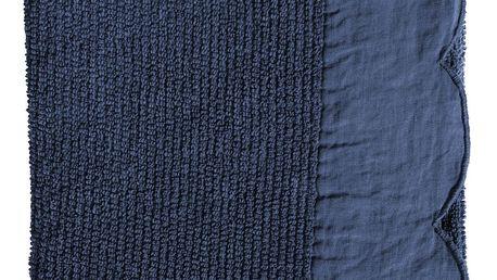 CÔTÉ TABLE Froté ručník Fris Bleu 55x90 cm, modrá barva, textil