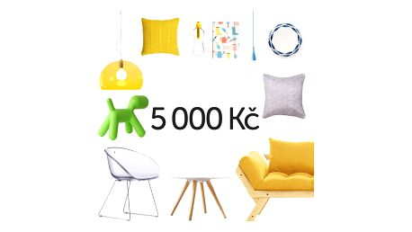 Elektronický dárkový poukaz na 5000 Kč - doprava zdarma!