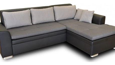 Rohová sedačka rozkládací Vanilla pravý roh (L35/M1100/L15)