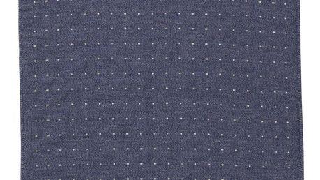 ferm LIVING Ručník Sento Blue 50x100 cm, modrá barva, textil