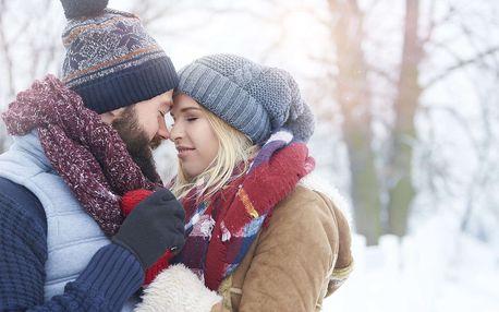 Romantická zima v zámečku Benice