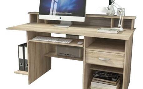 P2 - Kancelářský stůl (dub sonoma)