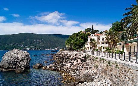 Hotel Ellena***, Komfortní hotel v Boce Kotorské se snídaní