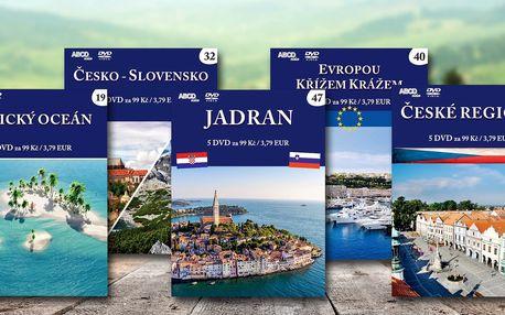 Cestopisné balíčky z celého světa na DVD