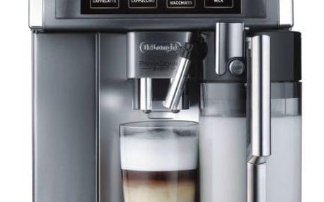 Espresso DeLonghi PrimaDonna ESAM6700 nerez + DOPRAVA ZDARMA
