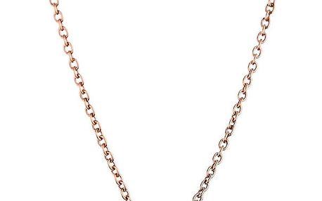 Dámský náhrdelník zlaté barvy z nerezové oceli Emily Westwood Circle
