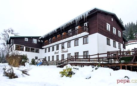 3–5denní wellness pobyt pro 2 s polopenzí v hotelu Venuše*** ve Špindlerově Mlýně