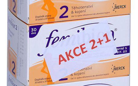 Femibion 2 vánoční balení 2+1 ZDARMA