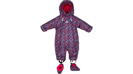 G-MINI Bano Overal kojenecký, potisk, vel. 80 – růžová