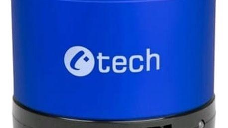 Přenosný reproduktor C-Tech SPK-04L (SPK-04L) modrý