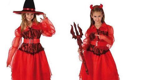 Kostým pro děti Th3 Party 2357 Čarodějnice