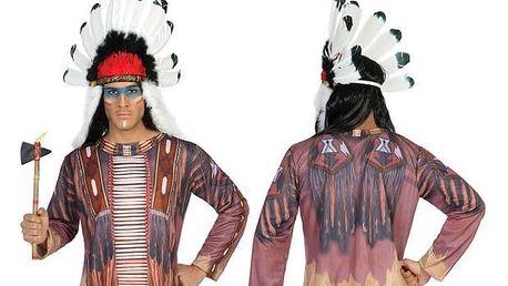 Tričko pro dospělé Th3 Party 6511 Indián