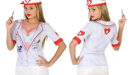 Tričko pro dospělé Th3 Party 6542 Krvelačná sestřička