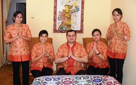 60-90min. thajská olejová masáž pro 2 osoby v Hradci Králové