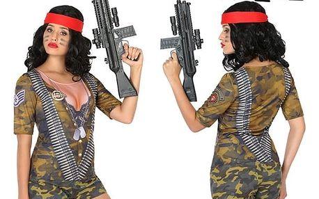 Tričko pro dospělé Th3 Party 6535 Vojačka