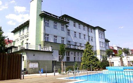 Jarní wellness pobytpro dva ve Wellness hotelu Central***, polopenze, bazén, finská sauna.