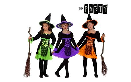 Kostým pro děti Th3 Party 2586 Čarodějnice