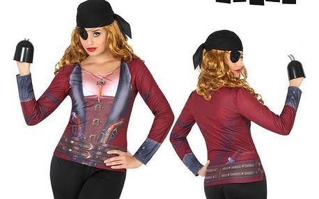 Tričko pro dospělé Th3 Party 6702 Pirátka