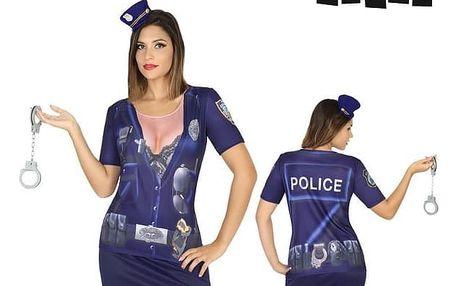 Tričko pro dospělé Th3 Party 6528 Policajtka