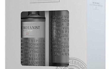Gin Botanist Islay Dry 0,7l 46%+Mixovací sklo dárkové balení