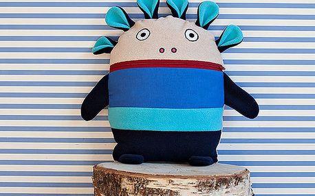 Modrý pyžamožrout Bartex Design, 35x30cm