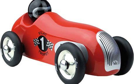 VILAC Designové Dřevěné historické závodní auto