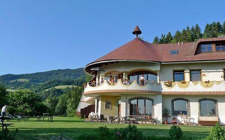 Rakousko - hotel Biolandhaus až 8 dní pro dva s polopenzí