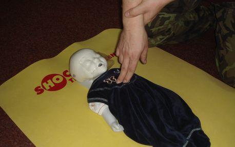 Kurz první pomoci zaměřený na kojence a děti pro 1-2 osoby