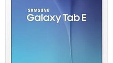 Dotykový tablet Samsung Tab E (SM-T560) (SM-T560NZWAXEZ) bílý + DOPRAVA ZDARMA
