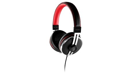 Sluchátka GoGEN HC 01R (HC 01R) černé/červené