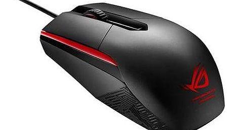 Myš Asus ROG Sica (90MP00B1-B0UA00) černá Podložka pod myš Asus Echelon Gaming Pad (zdarma)