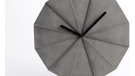 Betonové hodiny Amadeus Graphic