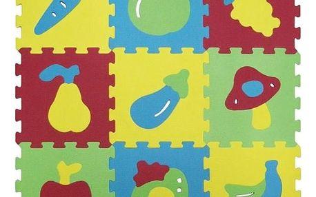 Pěnové puzzle Ludi - ovoce a zalenina