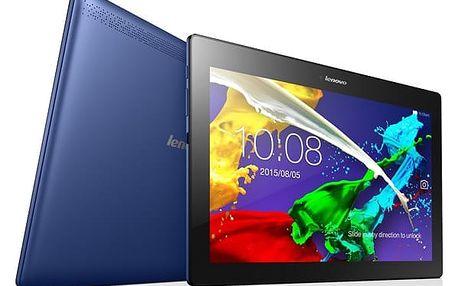 Dotykový tablet Lenovo TAB 2 A10-70L LTE (ZA010012CZ) modrý SIM karta T-Mobile 200Kč Twist Online Internet v hodnotě 200 Kč + DOPRAVA ZDARMA