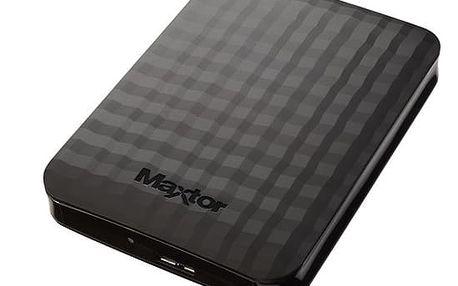 """Externí pevný disk 2,5"""" Maxtor M3 Portable 1TB (STSHX-M101TCBM) černý"""