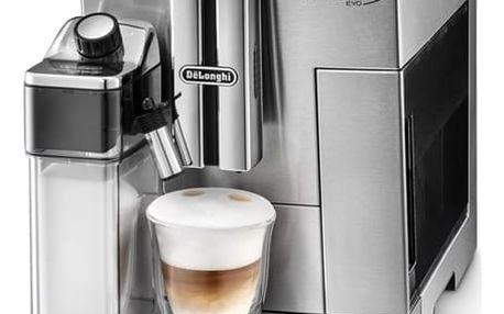 Espresso DeLonghi PrimaDonna S Evolution ECAM 510.55.M stříbrné + DOPRAVA ZDARMA