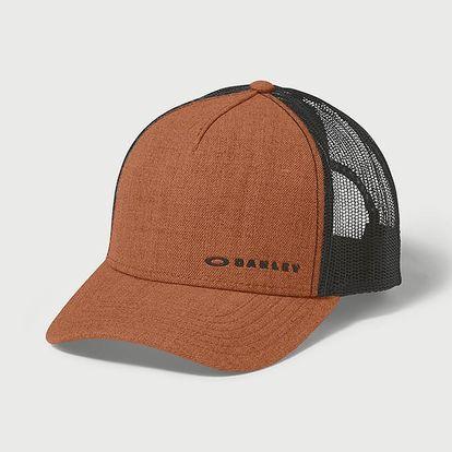 Kšiltovka Oakley Chalten Cap Umber Oranžová