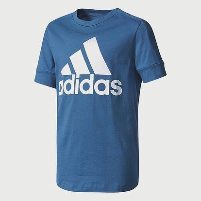 Tričko adidas Performance YB ID TEE Modrá
