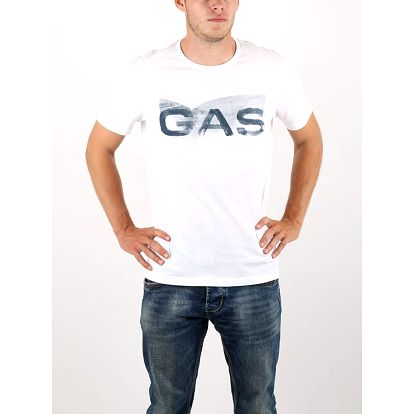 Tričko GAS Scuba S Logo Sp Bílá