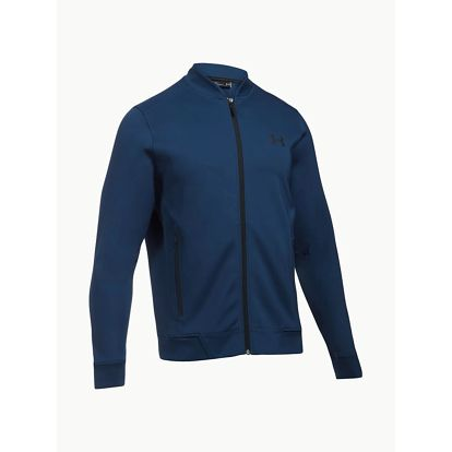 Mikina Under Armour Elevated Bomber Modrá
