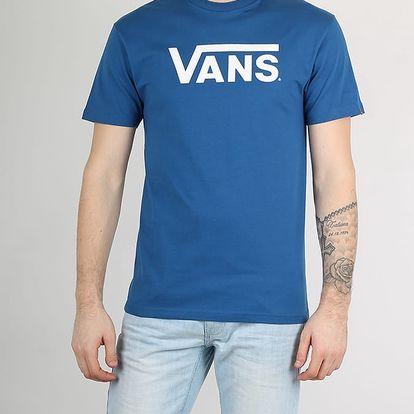 Tričko Vans Mn Classic True Blue-White Modrá